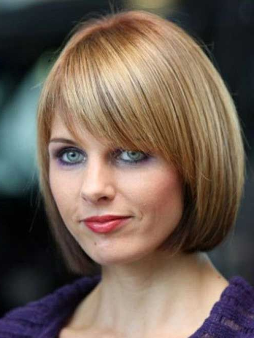 Short Straight Hairstyles With Bangs | Hair | Pinterest | Straight Throughout Straight Bob Hairstyles With Bangs (View 25 of 25)