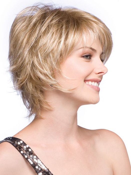 Sky | Synthetic Wig (Basic Cap) | Beautiful Hair Reference Within Short Bob Hairstyles With Feathered Layers (View 2 of 25)
