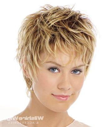 So Cute – Choppy, Piecey Fine Hair (View 7 of 25)