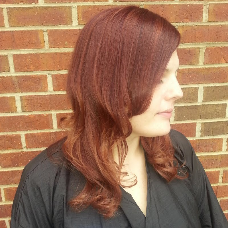 Soft Auburn Ombrerogue Hair Studio | Preen Intended For Soft Auburn Look Hairstyles (View 24 of 25)