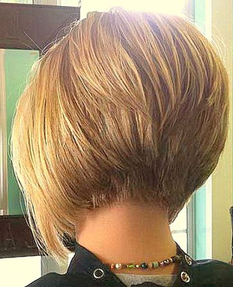 Stacked Bob Haircut, Bob Haircuts For Fine Hair,inverted Bob With With Regard To Rounded Bob Hairstyles With Stacked Nape (View 24 of 25)