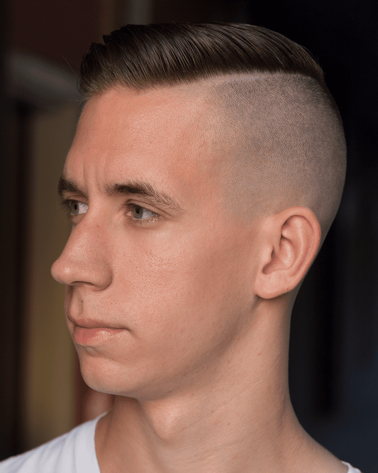 The Aggressive Undercut Haircut Within Angled Undercut Hairstyles (View 18 of 25)