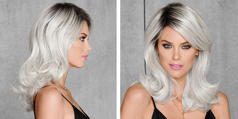 The Grey Hair Trend: 12 Grey Wig Styles You'll Instantly Love — The For Layered Tousled Salt And Pepper Bob Hairstyles (View 18 of 25)