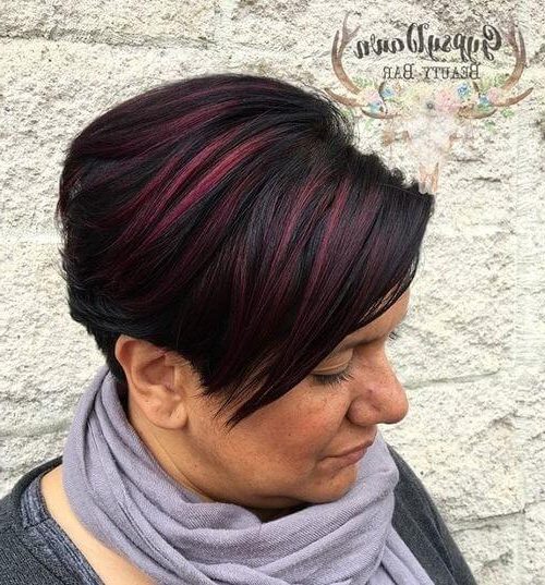 The Short Pixie Cut – 39 Great Haircuts You'll See For 2018 Pertaining To Pixie Bob Hairstyles With Blonde Babylights (View 24 of 25)