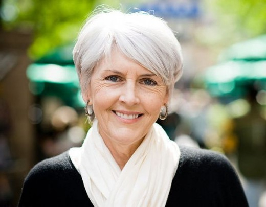 The Silver Fox: Stunning Gray Hair Styles | Bellatory With Regard To Pure Blonde Shorter Hairstyles For Older Women (View 17 of 25)