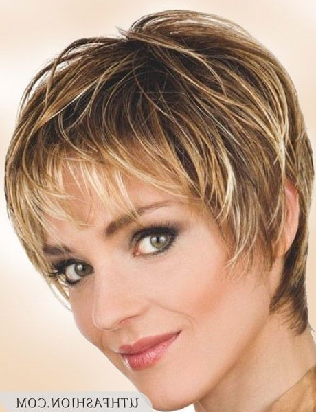 Top 12 Short Hairstyles For Older Women | Uthfashion | Short With Regard To Mature Short Layered Haircuts (View 23 of 25)