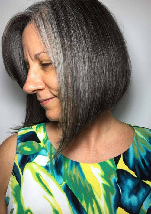 Top 51 Haircuts & Hairstyles For Women Over 50 – Glowsly Within Dark Brown Hairstyles For Women Over  (View 7 of 25)