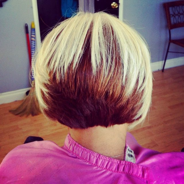 Two Tone Bob Hairstyles Black Women Pertaining To Voluminous Two Tone Haircuts (View 15 of 25)