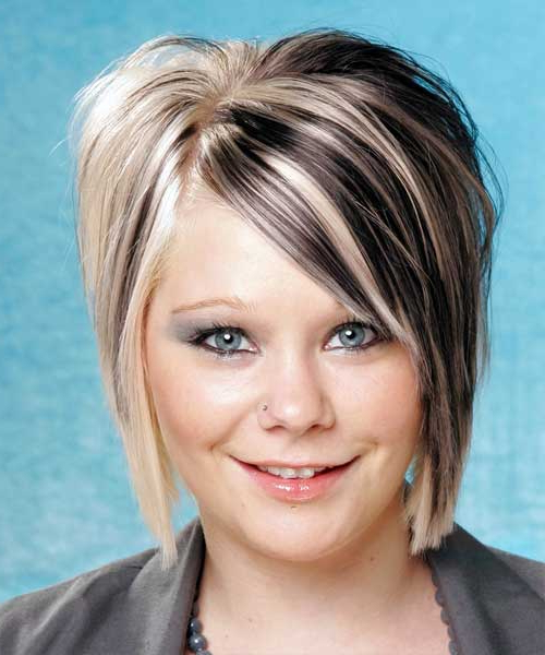 Two Tone Hair Color For Short Hair | Short Hairstyles 2018 – 2019 Intended For Two Tone Spiky Short Haircuts (View 16 of 25)