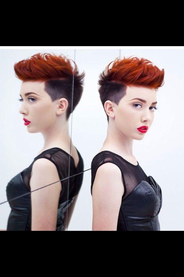 Two Tone Short Hair | Short Hair Styles | Pinterest | Short Hair In Two Tone Spiky Short Haircuts (View 2 of 25)