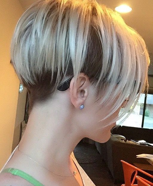 Undercut Pixie Bob | Chic Short Hair Styles In 2018 | Pinterest With Edgy Pixie Bob Hairstyles (View 24 of 25)