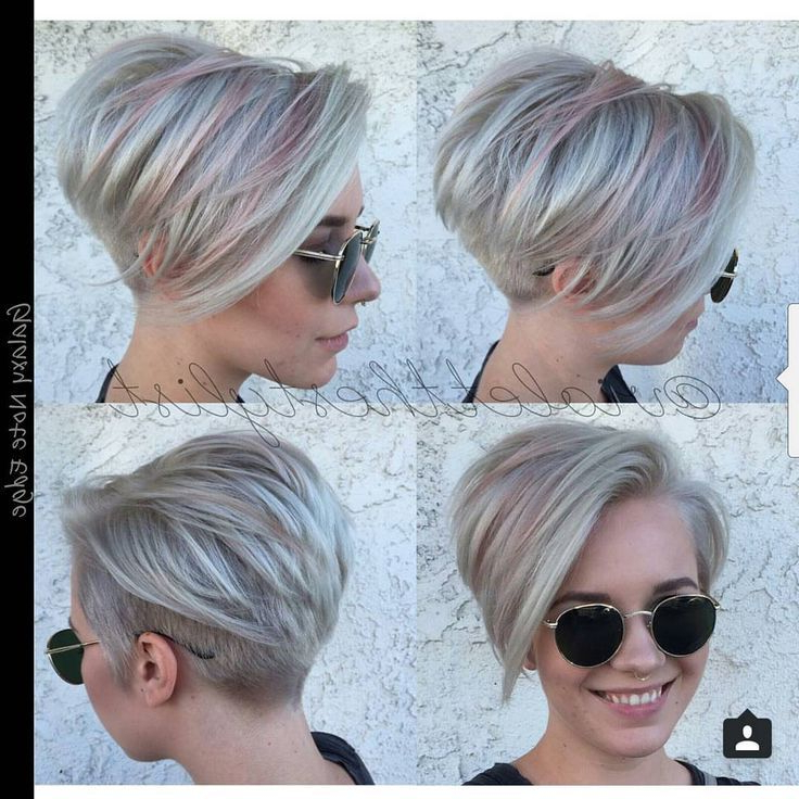 Undercut With Overlying Layers And Disconnected Crown – Google Inside Tapered Gray Pixie Hairstyles With Textured Crown (View 7 of 25)