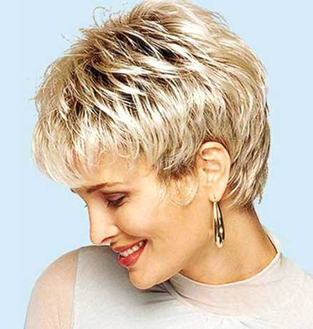 Unique Short Hairstyles For Thick Wavy Hair And Round Faces Short With Regard To Short Layered Hairstyles For Thick Hair (View 24 of 25)