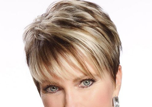 Very Short Hair With Highlights   30 Cool Short Choppy Hairstyles With Pixie Bob Hairstyles With Blonde Babylights (View 4 of 25)