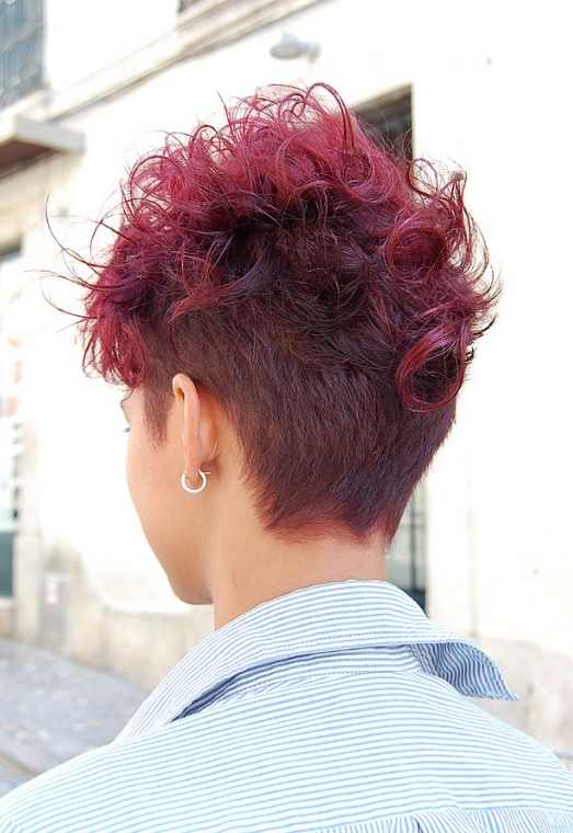 Wow! Short, Sassy & Sexy – A Red Hot Cut! – Hairstyles Weekly Inside Sassy And Stacked Hairstyles (View 23 of 25)