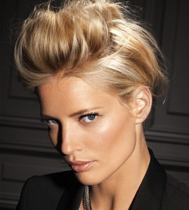 10 Faux Hawk Hairstyles For 2016 Throughout Unique Updo Faux Hawk Hairstyles (View 18 of 25)
