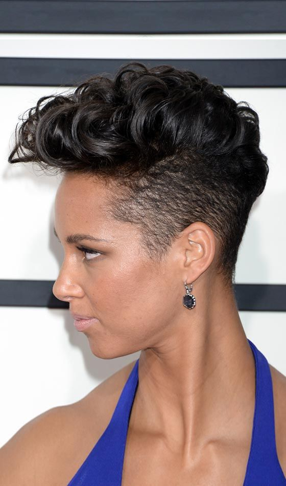 10 Funky Short Punk Hairstyles You Can Try Right Now | Hair And Inside Divine Mohawk Like Updo Hairstyles (View 14 of 25)