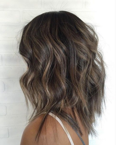 10 Medium Length Styles Ideal For Thin Hair | ? Hairstyles | Hair With Regard To 2018 Caramel Lob Hairstyles With Delicate Layers (View 3 of 25)