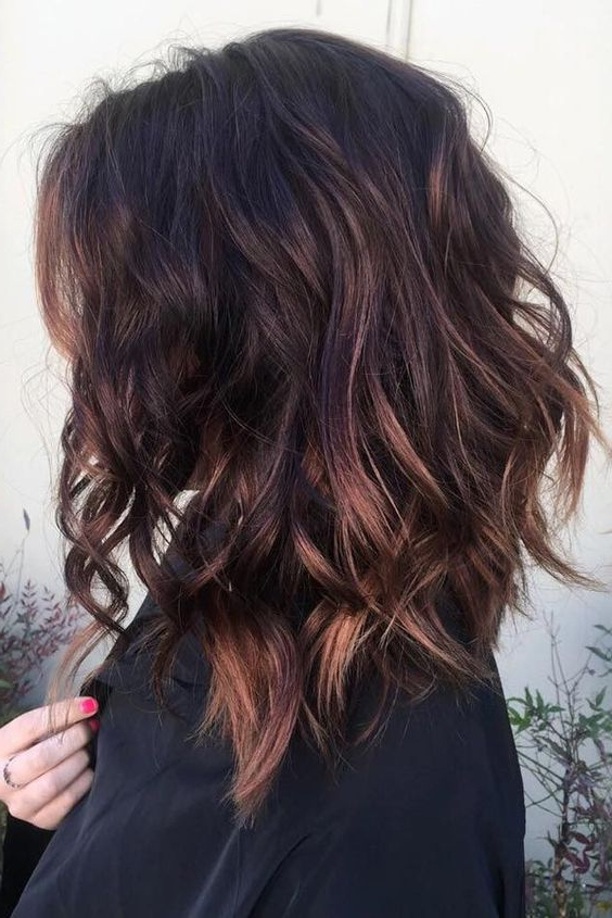 10 Messy Medium Hairstyles For Thick Hair 2019 With Recent Uneven Layered Bob Hairstyles For Thick Hair (View 8 of 25)