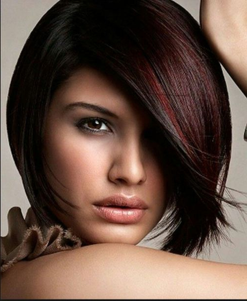 10 Popular Burgundy Color Hairstyles – Style Samba With Recent Burgundy Bob Hairstyles With Long Layers (View 1 of 25)