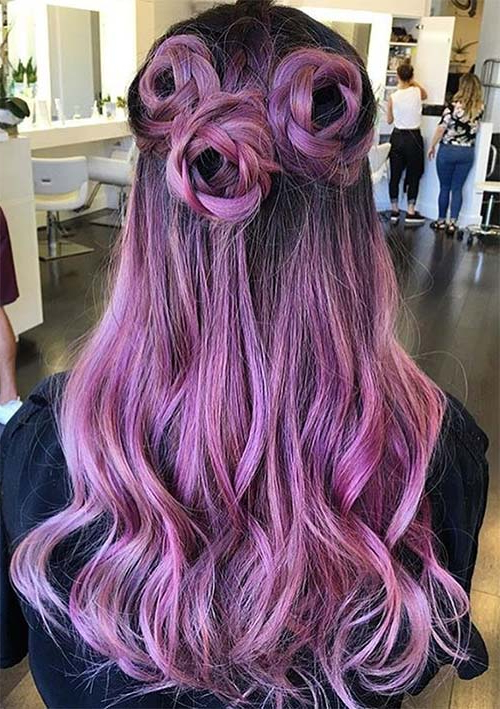 100 Ridiculously Awesome Braided Hairstyles To Inspire You Inside Lavender Braided Mohawk Hairstyles (View 20 of 25)