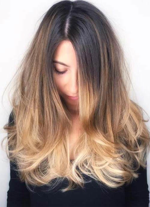 101 Layered Haircuts & Hairstyles For Long Hair Spring 2017 Intended For Latest Thick Longer Haircuts With Textured Ends (View 22 of 25)