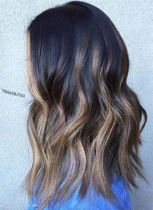 101 Layered Haircuts & Hairstyles For Long Hair Spring 2017 Regarding Most Recent Medium Haircuts With Fiery Ombre Layers (View 21 of 25)