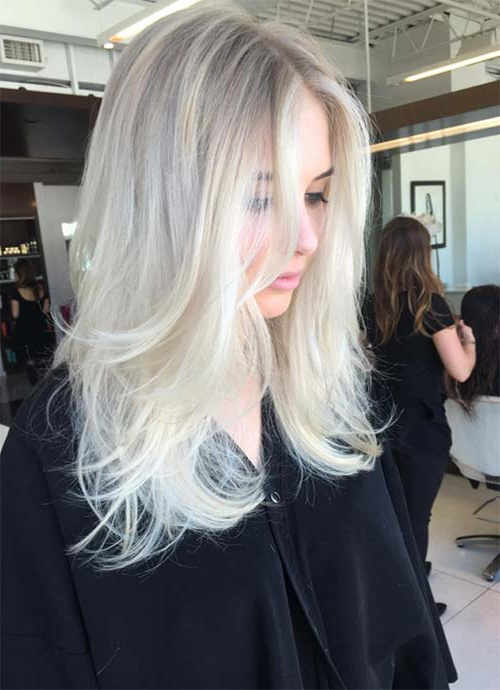 101 Layered Haircuts & Hairstyles For Long Hair Spring 2017 Within Most Popular Platinum Layered Side Part Hairstyles (View 1 of 25)