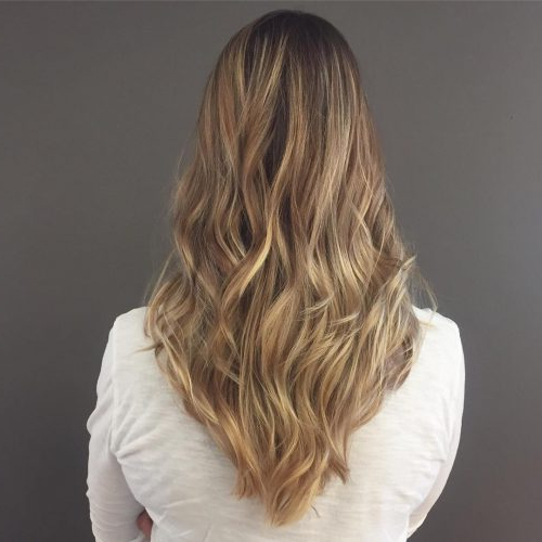 114 Top Shoulder Length Hair Ideas To Try (Updated For 2019) In 2018 Shoulder Length Haircuts With Long V Layers (View 7 of 25)