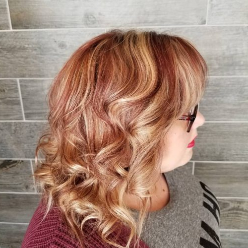 114 Top Shoulder Length Hair Ideas To Try (Updated For 2019) Regarding Most Popular Medium Hairstyles With Perky Feathery Layers (View 1 of 25)