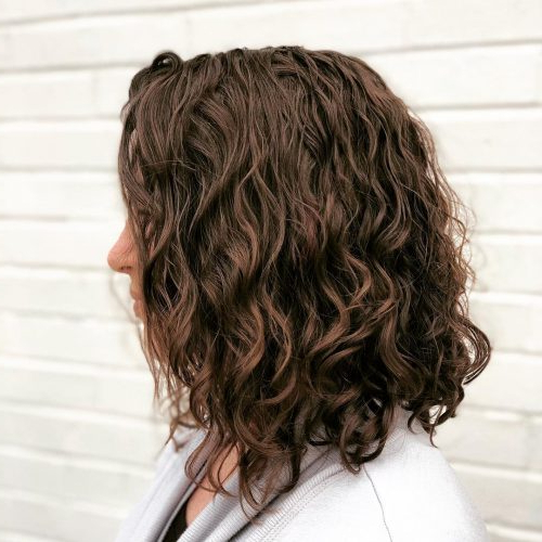 114 Top Shoulder Length Hair Ideas To Try (Updated For 2019) Throughout Most Recently Mid Length Haircuts With Curled Layers (View 2 of 25)