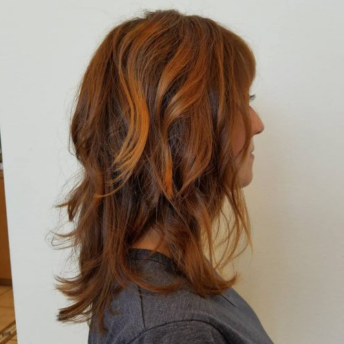 114 Top Shoulder Length Hair Ideas To Try (Updated For 2019) With Most Up To Date Medium Hairstyles With Perky Feathery Layers (View 2 of 25)