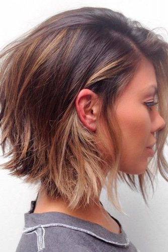 14 Adorable Short Layered Haircuts For The Summer Fun | New Hair Inside 2018 Layered Tousled Bob Hairstyles (View 8 of 25)
