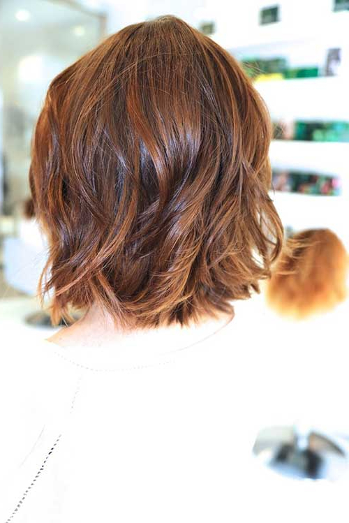 15 Long Bob Haircuts Back View | Bob Hairstyles 2018 – Short Inside Most Current Layered Wavy Lob Hairstyles (View 24 of 25)