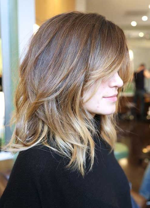 15 New Layered Long Bob Hairstyles | Bob Hairstyles 2018 – Short With Latest Layered Wavy Lob Hairstyles (View 6 of 25)