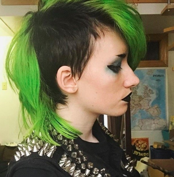 17 Female Mohawk Hairstyles That'll Really Turn Heads – Punk 101 In Whipped Cream Mohawk Hairstyles (View 25 of 25)