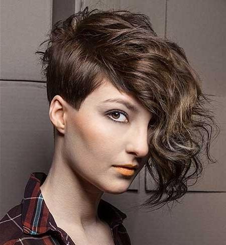 18 Asymmetrical Bob Hairstyles For 2018 | Hairstyle Guru – Part 12 Inside Asymmetrical Pixie Faux Hawk Hairstyles (View 9 of 25)
