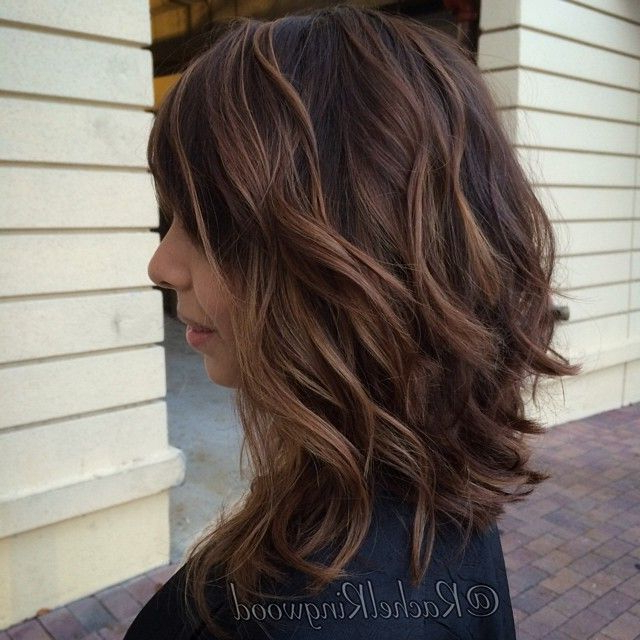 18 Signs Balayage Is Here To Stay | All About Makeup, Nails, Hair Within 2018 Caramel Lob Hairstyles With Delicate Layers (View 4 of 25)