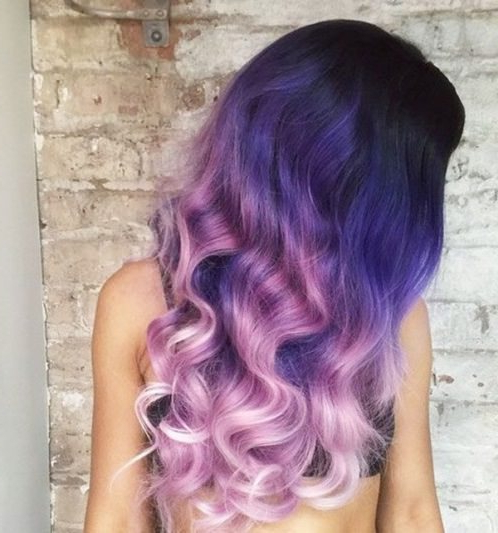 20 Cool Ideas For Lavender Ombre Hair And Purple Ombre In Lavender Ombre Mohawk Hairstyles (View 23 of 25)
