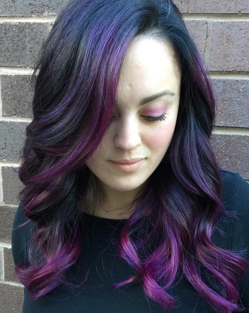 20 Cool Ideas For Lavender Ombre Hair And Purple Ombre Pertaining To Lavender Ombre Mohawk Hairstyles (View 11 of 25)