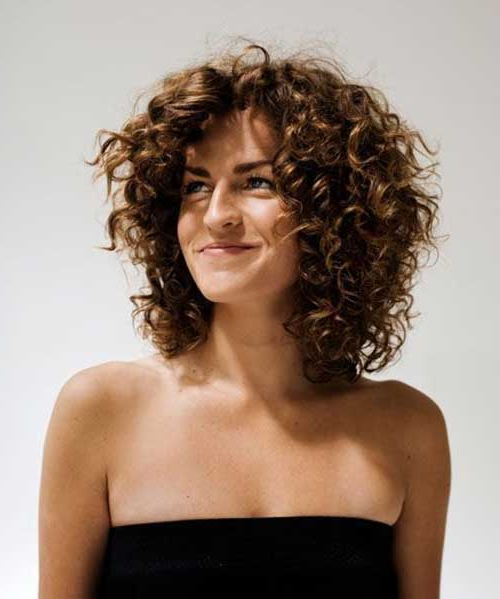 20 Curly Short Bob Hairstyles | Bob Hairstyles 2018 – Short For Most Up To Date Curly Layered Bob Hairstyles (View 5 of 25)