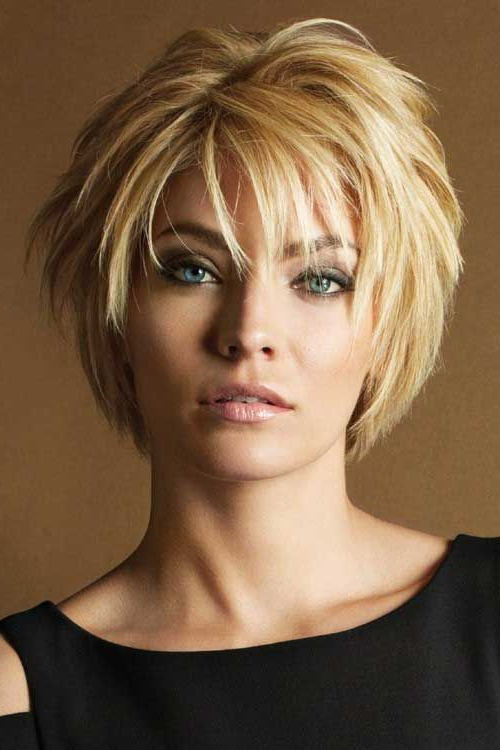 20 Fashionable Layered Short Hairstyle Ideas (With Pictures) | Hair In Latest Layered Haircuts With Cropped Locks On The Crown (View 4 of 25)