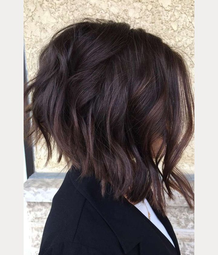20 Gorgeous Inverted Choppy Bobs | Prom Hairstyles | Pinterest Inside Newest Long Angled Bob Hairstyles With Chopped Layers (View 5 of 25)