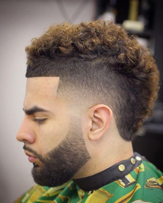 20 Ideal Mohawk Styles For Men With Curly Hair [January (View 7 of 25)