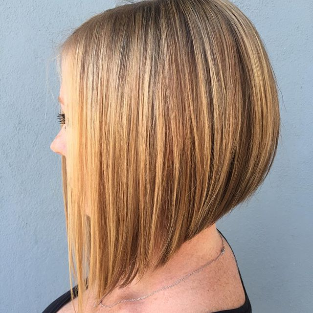 20 Of The Most Hottest A Line Bob Hairstyles – Haircuts & Hairstyles Inside Most Popular Bob Haircuts With Symmetrical Swoopy Layers (View 7 of 25)