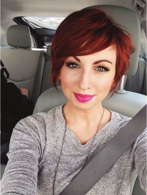 20 Pixie Hair Styles | Pixie Hair, Short Haircuts And Pixies Intended For Vibrant Red Mohawk Updo Hairstyles (View 14 of 25)