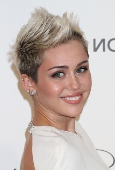 20 Short Haircut Ideas: Add Some Spike To Your Short Hair – Popular Intended For Asymmetrical Pixie Faux Hawk Hairstyles (View 11 of 25)