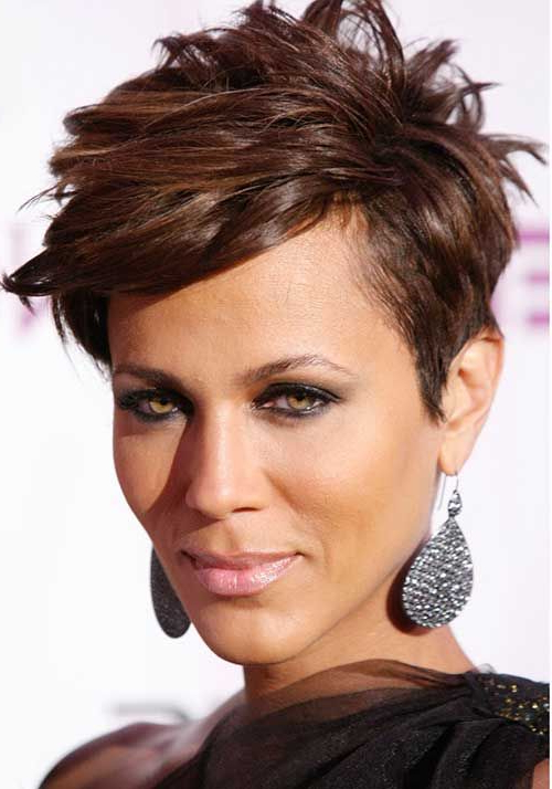 20 Short Haircuts For Black Women | Hair And Makeup | Pinterest Within Sweet Tart Peaked Faux Hawk Hairstyles (View 16 of 25)