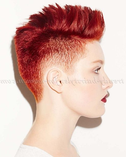 20 Short Spiky Hairstyles For Women | Womens Hairstyles | Short Hair Within Amber Waves Of Faux Hawk Hairstyles (View 7 of 25)