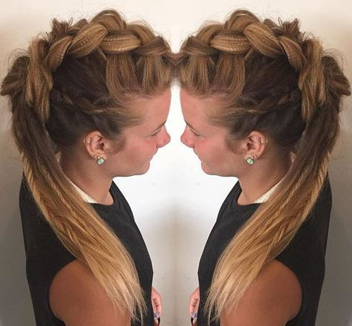 2018 Faux Hawks For Girls And Women Within The Neelix Faux Hawk Hairstyles (View 22 of 25)
